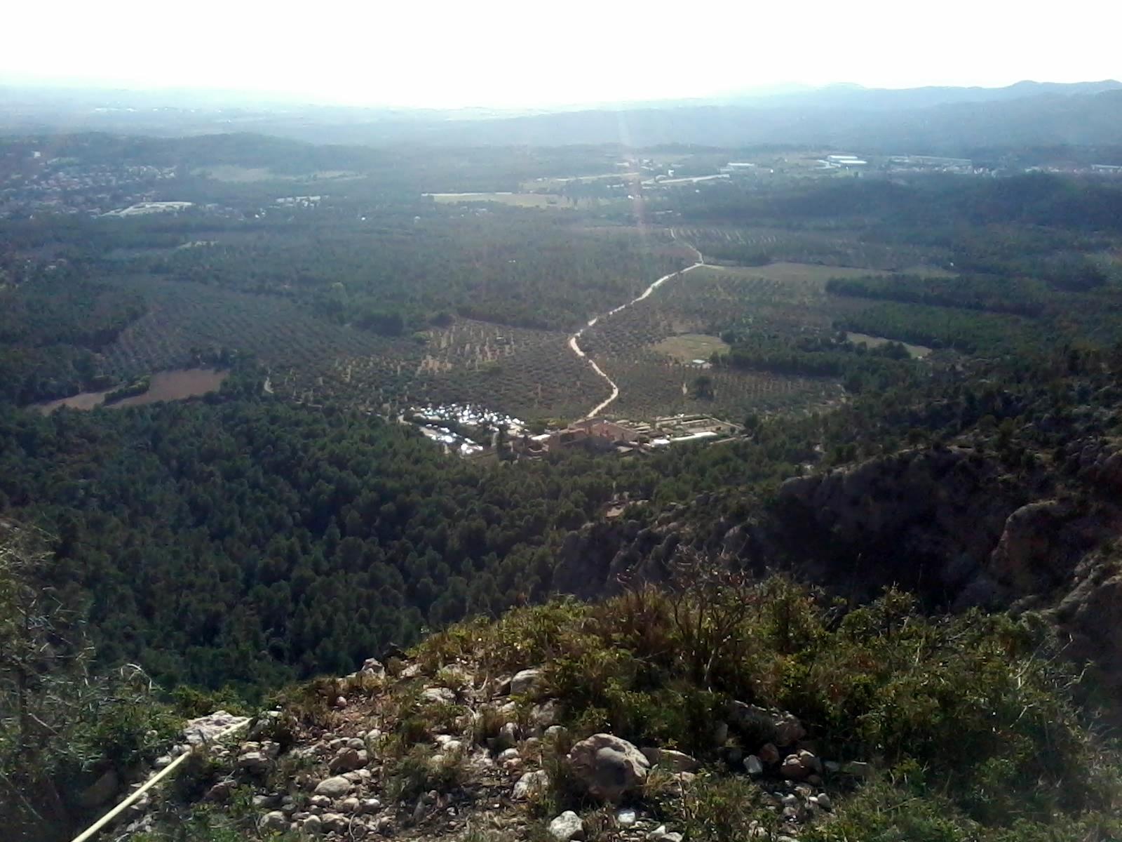 Vistas sobre la Vinya Nova