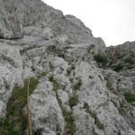 El último largo de la Cerdà-Pokorski
