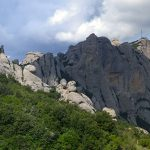 Vistas sobre la cara norte de Montserrat