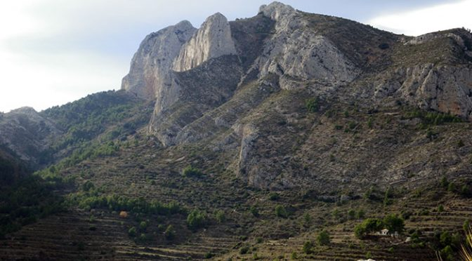Via Polop. Peñón del Cabal