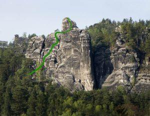 Westlicher Feldkopf - Stufenwand