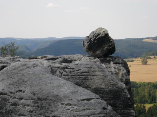 Bola en la parte superior del Falkenstein