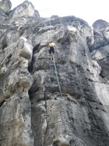 Último rapel de Falkenwand