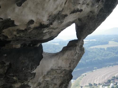 Formas curiosas de la roca