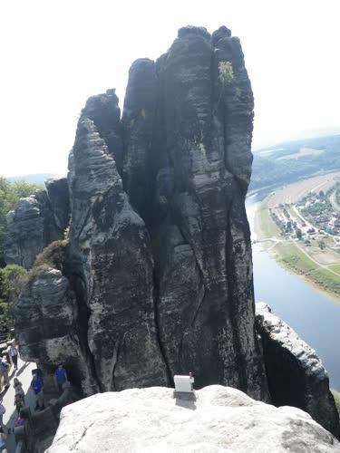 Las vistas desde la cima de Jahrhundertturm