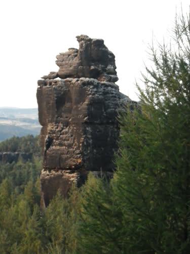 Las vistas desde la cima del Mönch