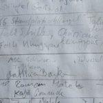 Inscripciones de la gente