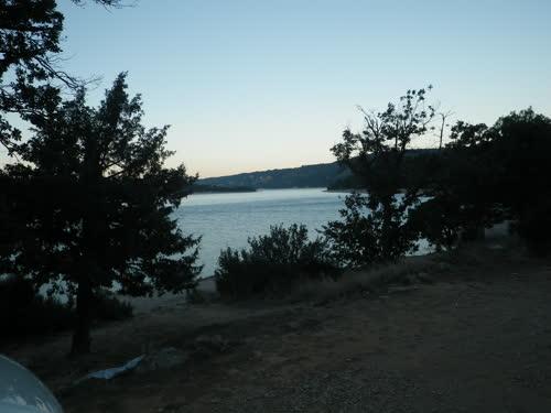 Vistas sobre el lago