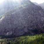 Vistas sobre el sector de la Fissure