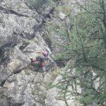 Paso delicado del descenso