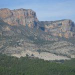 Las vistas desde la cima al Mont-Roig