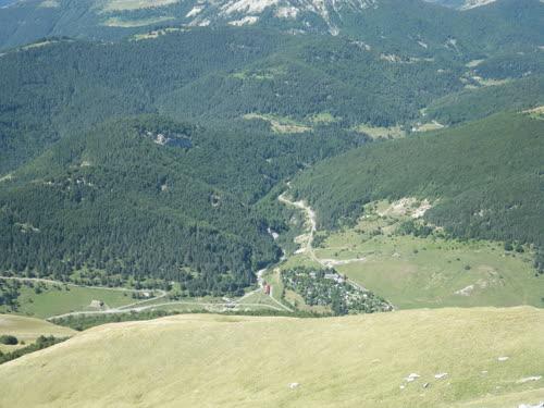 Camping Zuriza al fondo