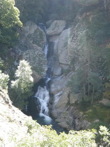 Cascada, foto desde la R0
