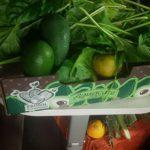 Verduras de la zona