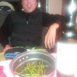 Cena de espárragos del Montroig