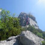 Cresteando para buscar el descenso